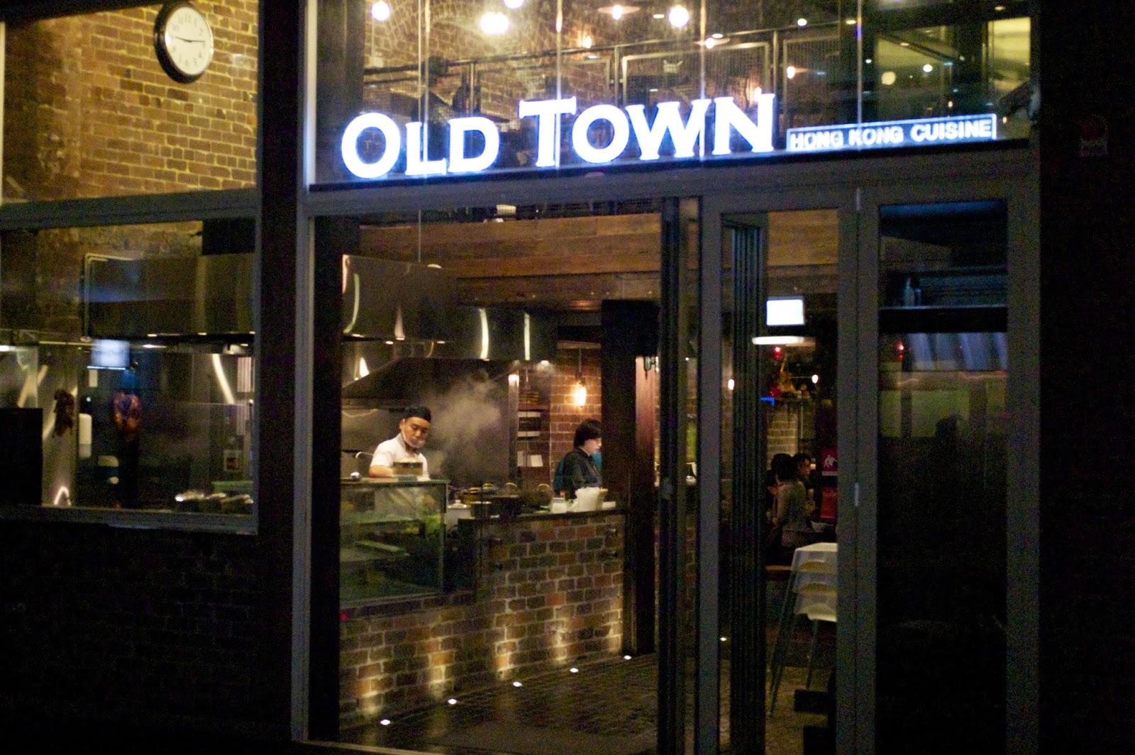 Old town restaurant hong kong cuisine 10 dixon st chinatown haymarket sydney