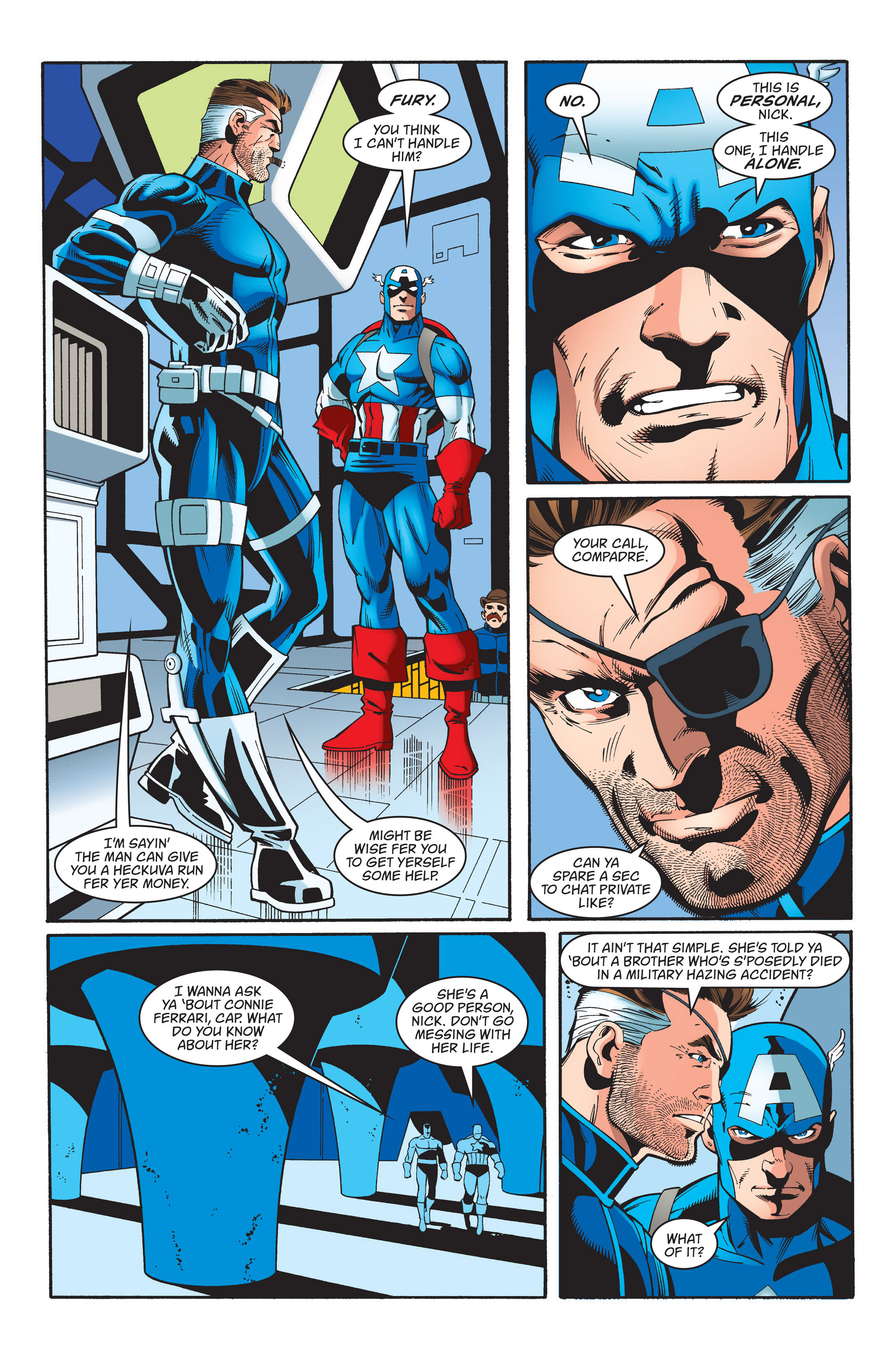Captain America (1998) Issue #37 #44 - English 7