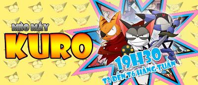 Phim Hoạt Hình Mèo máy Kuro