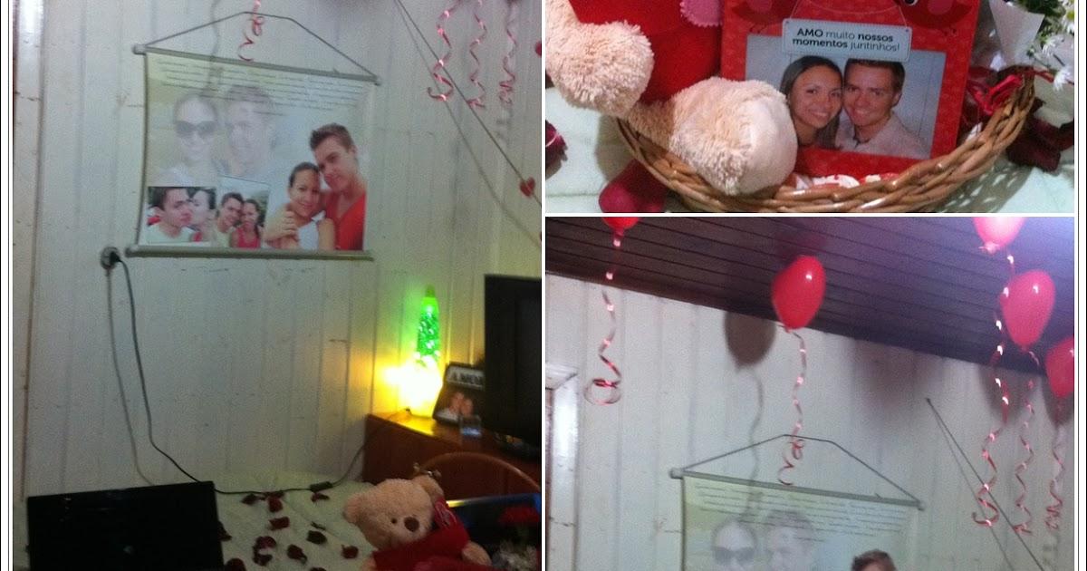 Dia dos Namorados Surpresa no Quarto Surpresas para  ~ Surpresa Para Namorado No Quarto Com Velas
