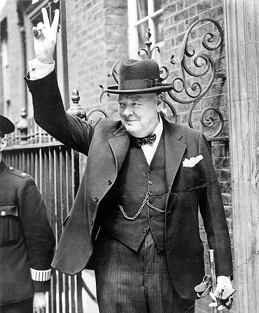 Winston Churchill in London
