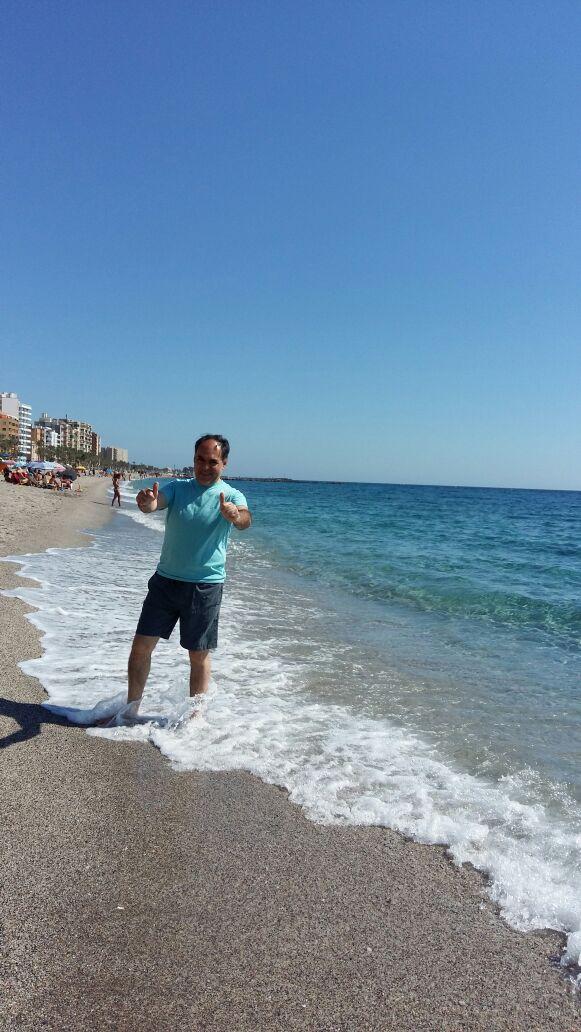 En las playas del Mediterráneo
