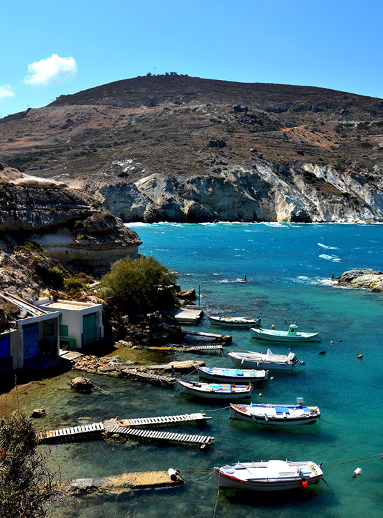 Photo of Milos island by Athina Valyraki. #Greece #Milos