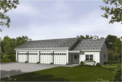Elegant 4 Car Garage Plans
