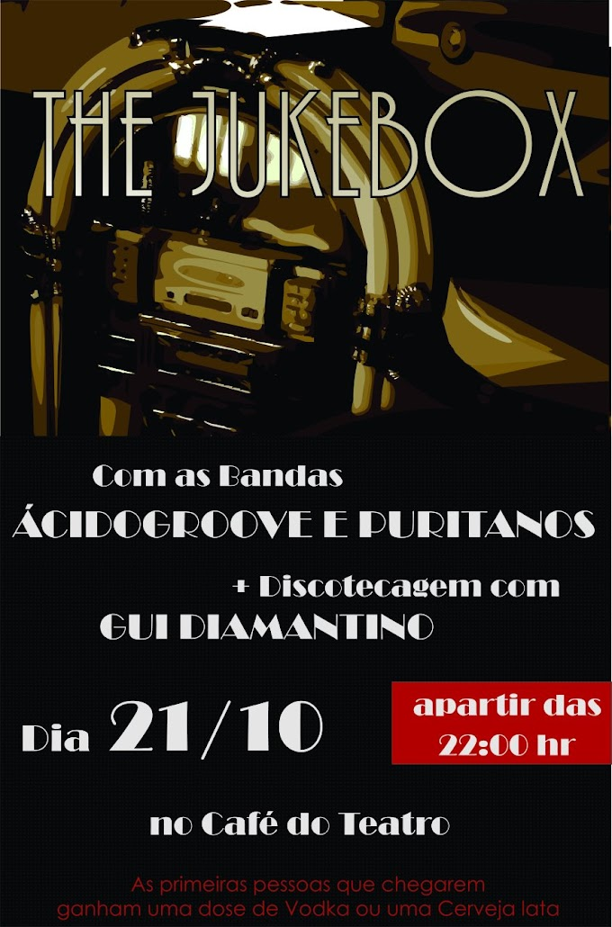 Acidogroove dia 21/10 no Café Teatro