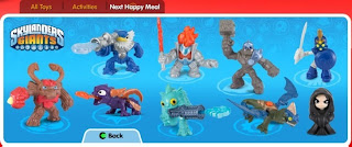 Skylanders Giants, Happy Meals
