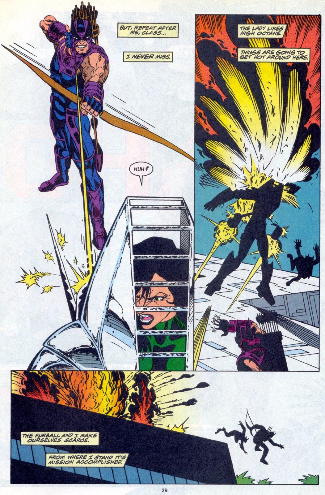 Hawkeye (1994) Issue #4 #4 - English 22