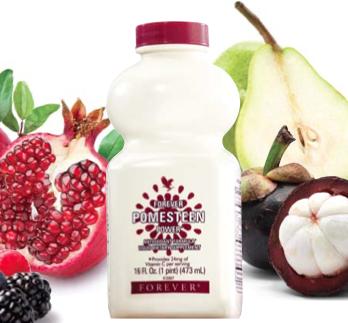 thành phần Forever Pomesteen Power nước uống trái cây