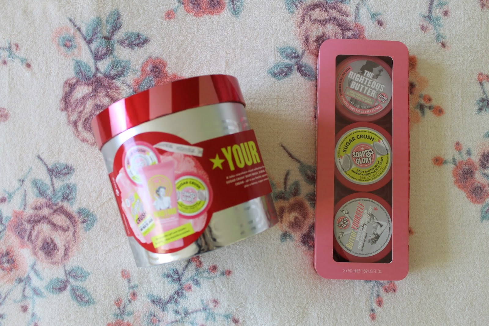 Soap & Glory Your Own Sweet Lime and All The Right Smoothes Gift Sets