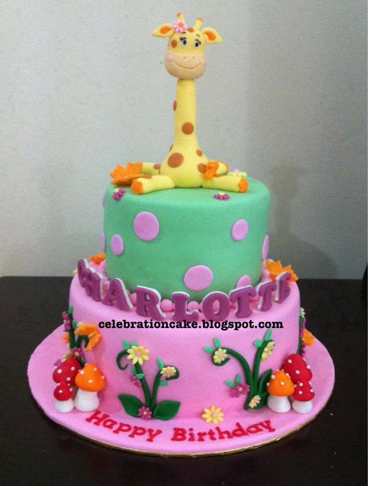 Celebration Cake 2 Tier Birthday Cake