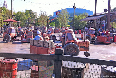 Cars Land Carsland Jamboree DCA Disney California Adventure