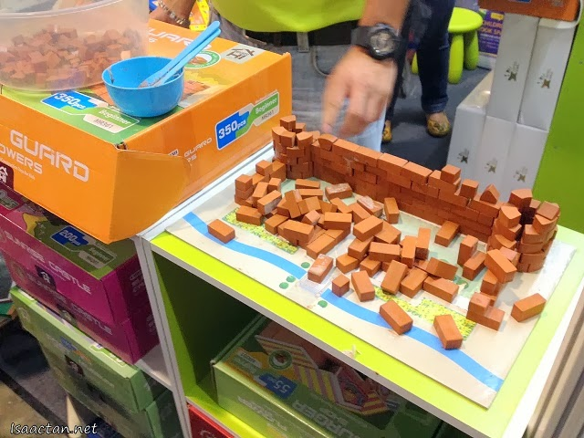 Fancy teaching your kids the correct way to lay bricks and contruct their own castle?