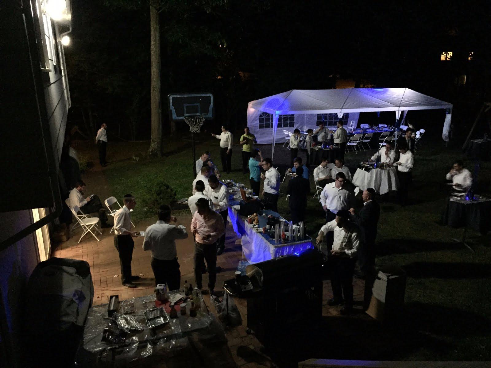 Siyum - BackYard Event