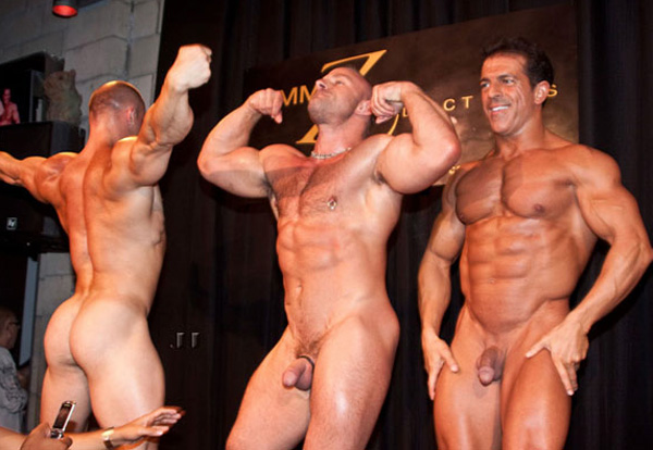 Muscle Boys Strip And Pose Naked