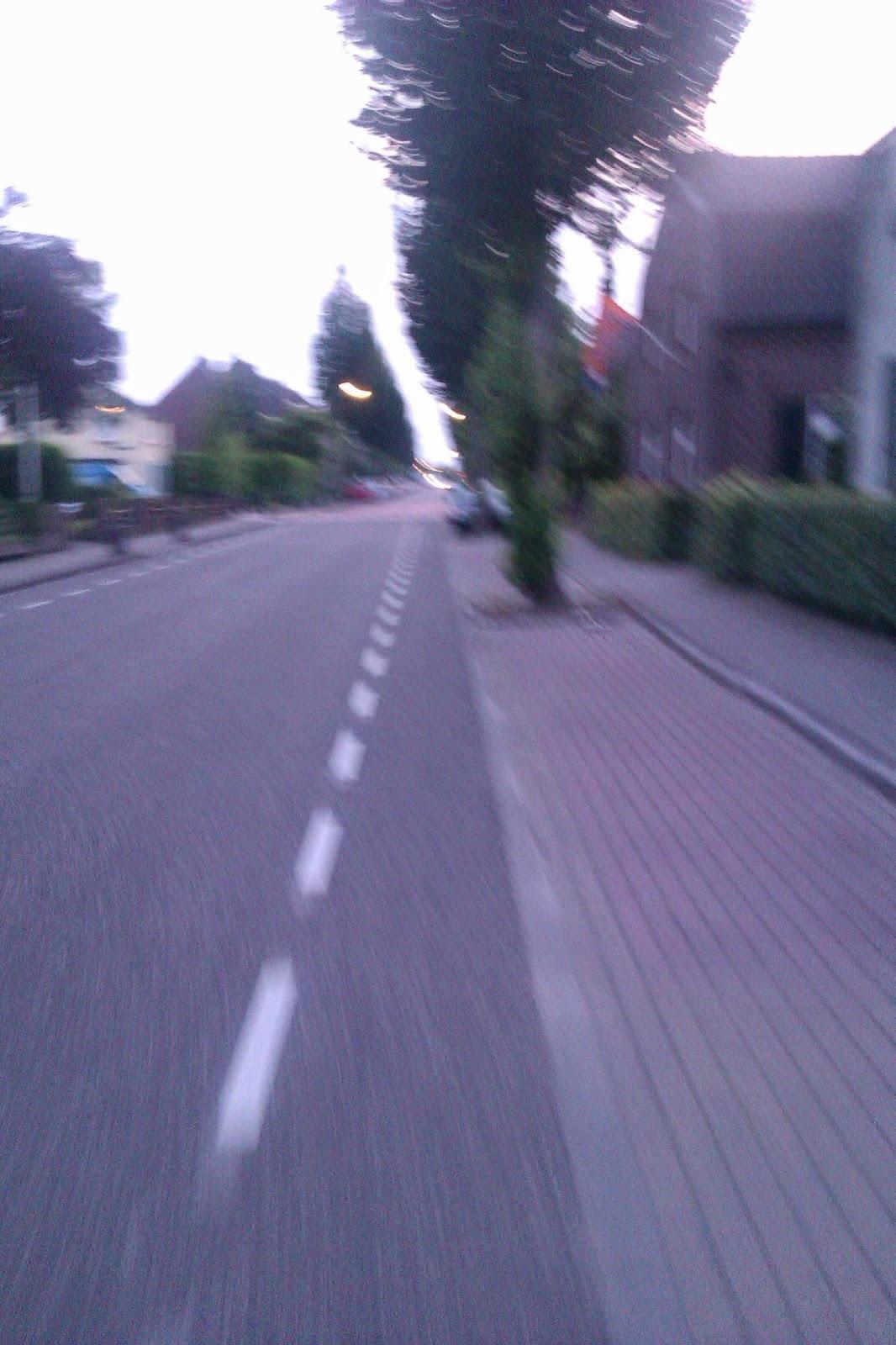 Fietspad straat