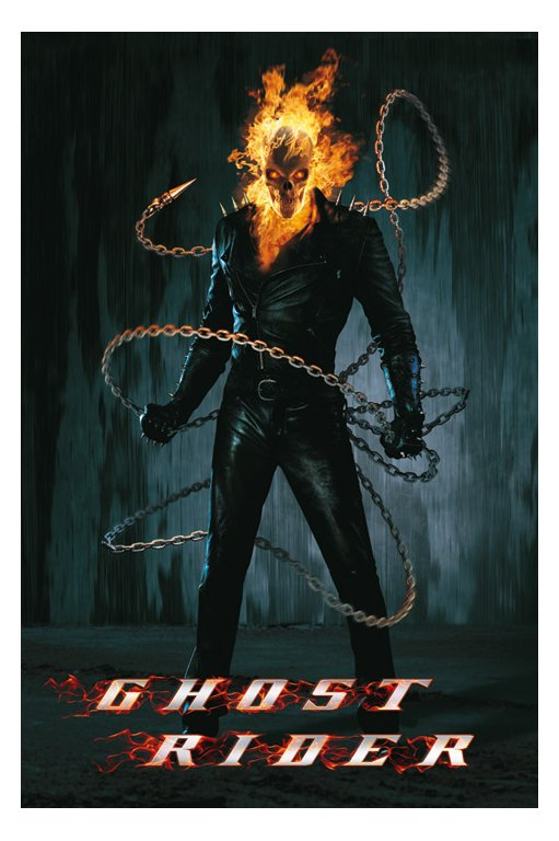 Ghost Rider Poster Wallpaper Movie Sport Wallpaper