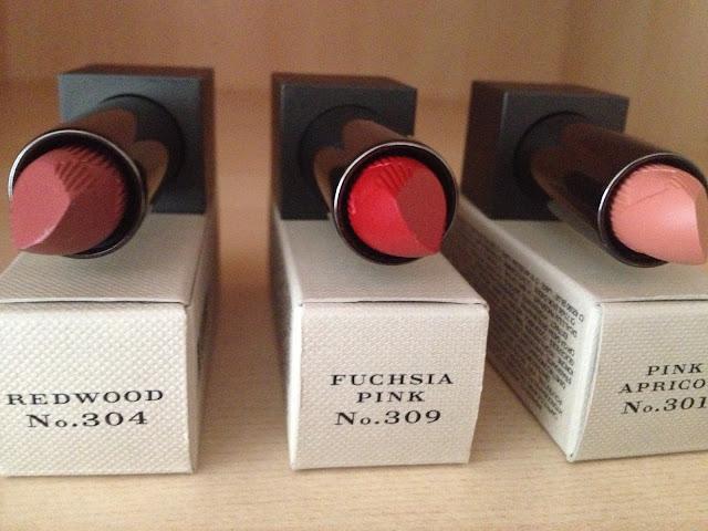 Burberry Lip Velvet lipsticks