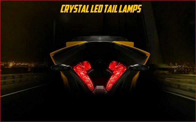 bajaj Pulsar RS200 taillight