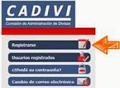 Registro Cadivi