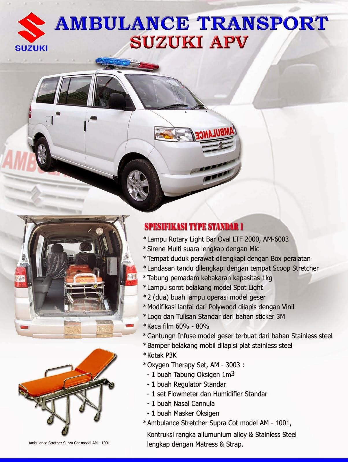 APV Ambulance Spesifikasi Standar-1 2014