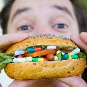 makanan dan minuman sihat