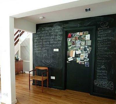 Come decorare le pareti della cucina e non solo architettura e design a roma - Parete lavagna cucina ...