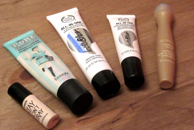 benefit the body shop primers
