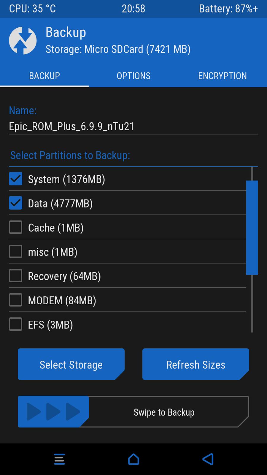 TWRP 3.0.2-X BY_XM Redmi Note 3 Pro & SE