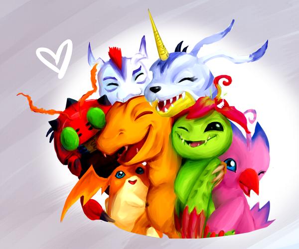 Digimons mais afofurados que postei