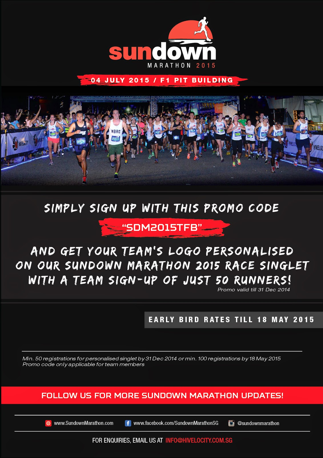 FatBird Rates For Sundown Marathon 2015