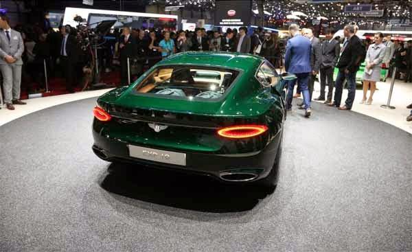 2015 Bentley EXP 10 speed 6 make Surprise Debut in Ganeva