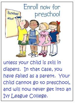 I'm already failing in my home-school preschool plan.
