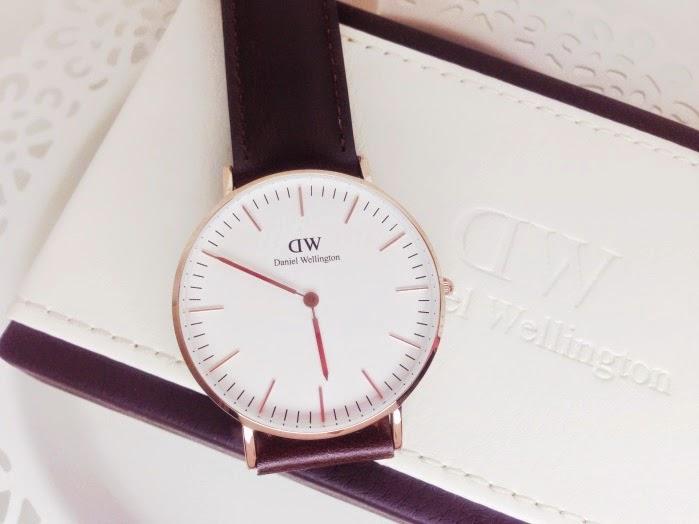 Daniel Wellington Armbanduhr Classic Bristol Lady. Blogger Uhren Trend