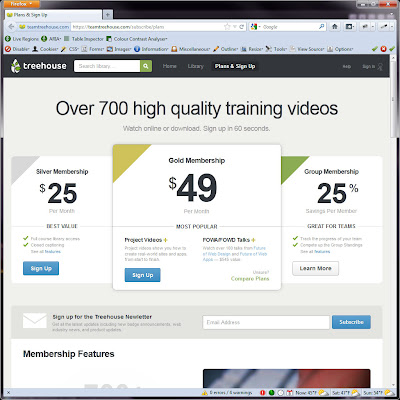Screen shot of https://teamtreehouse.com/subscribe/plans.