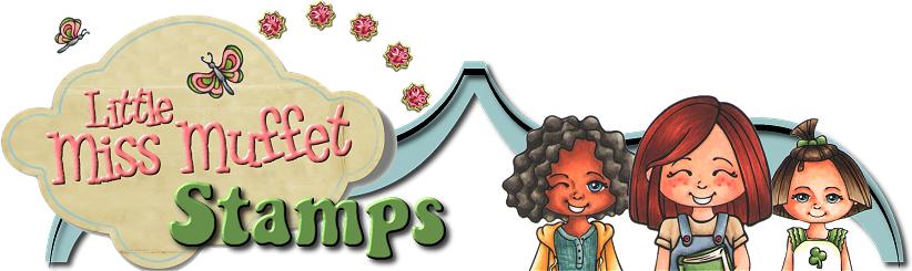 Little Miss Muffet Stamps