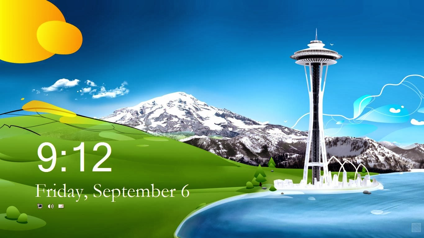Windows 81 Lock Screen