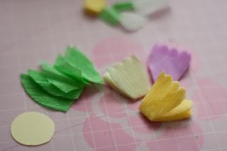 МК квіти з гофрованого паперу ~ Art Club UA - Український Арт Клуб