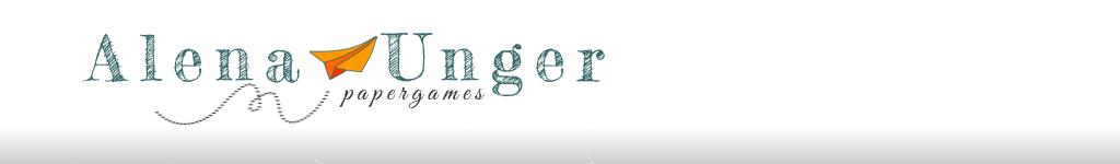 Alena Unger papergames
