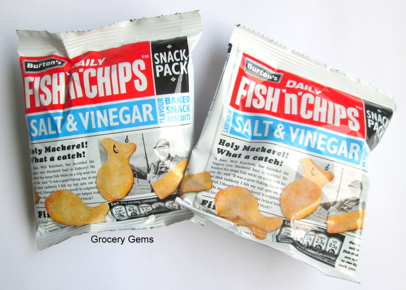 Grocery gems review burton 39 s fish 39 n 39 chips for Fish and chips vinegar