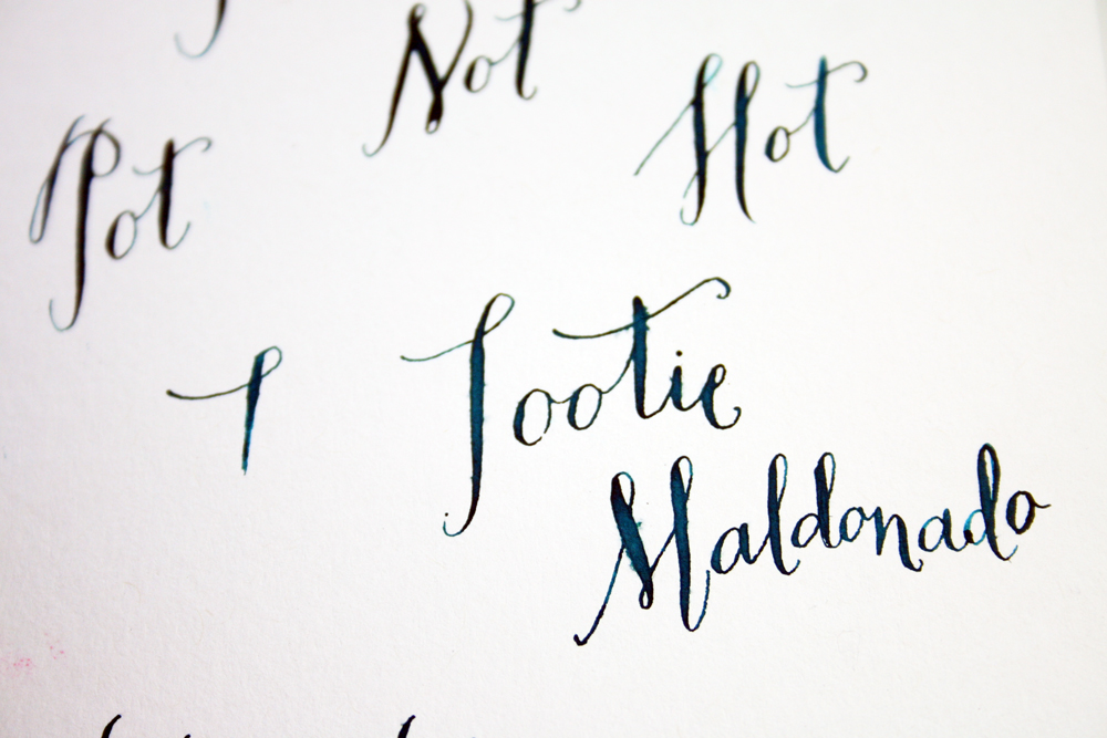 Paper Pastries Calligraphy Inks