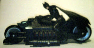 Left side of Batman Begins Armored Speed Bike