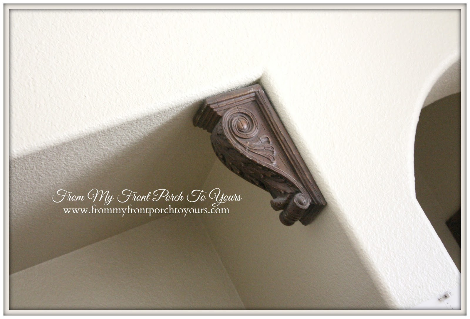 From My Front Porch To Yours- New Corbels