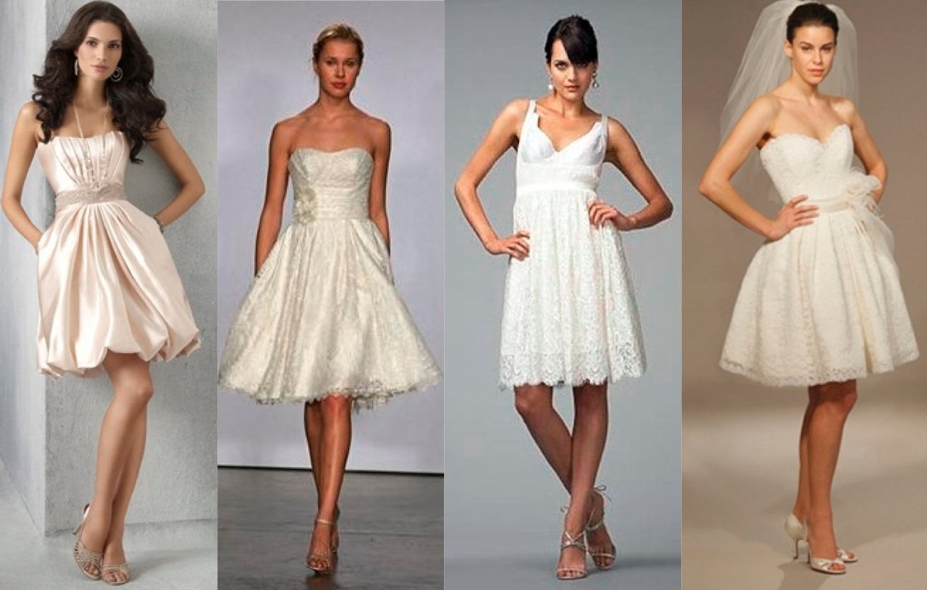 WEDDING DRESS BUSINESS Short Wedding Dresses For The Summer And Spring Wedding