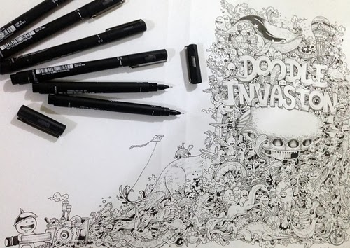 01-Filipino-Artist-Kerby-Rosanes-Doodle-Invasion-Drawings-www-designstack-co
