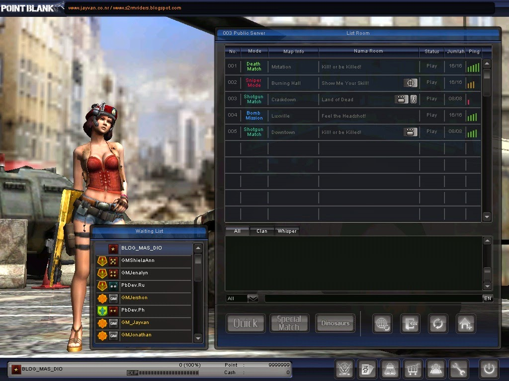 Download Point Blank Offline (PB) NEW 2014 + Tutorial Install