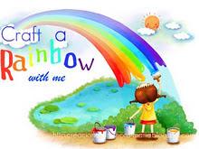 Creando con los colores del arcoiris