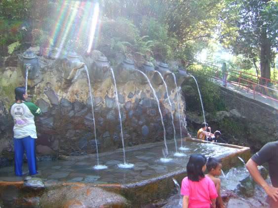 Objek wisata Air panas Ciater Subang Jawa Barat 2