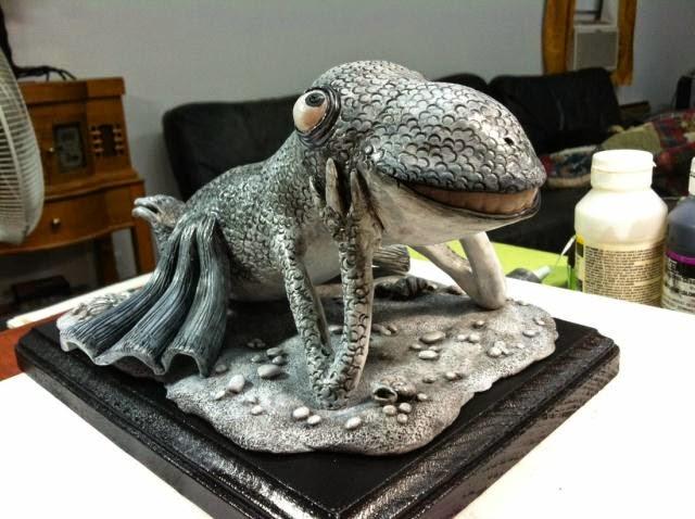 09-Gorey-Sea-Creature-Deanna-Molinaro-aka-Chickenshoot-Odd-Clay-Sculptures-www-designstack-co
