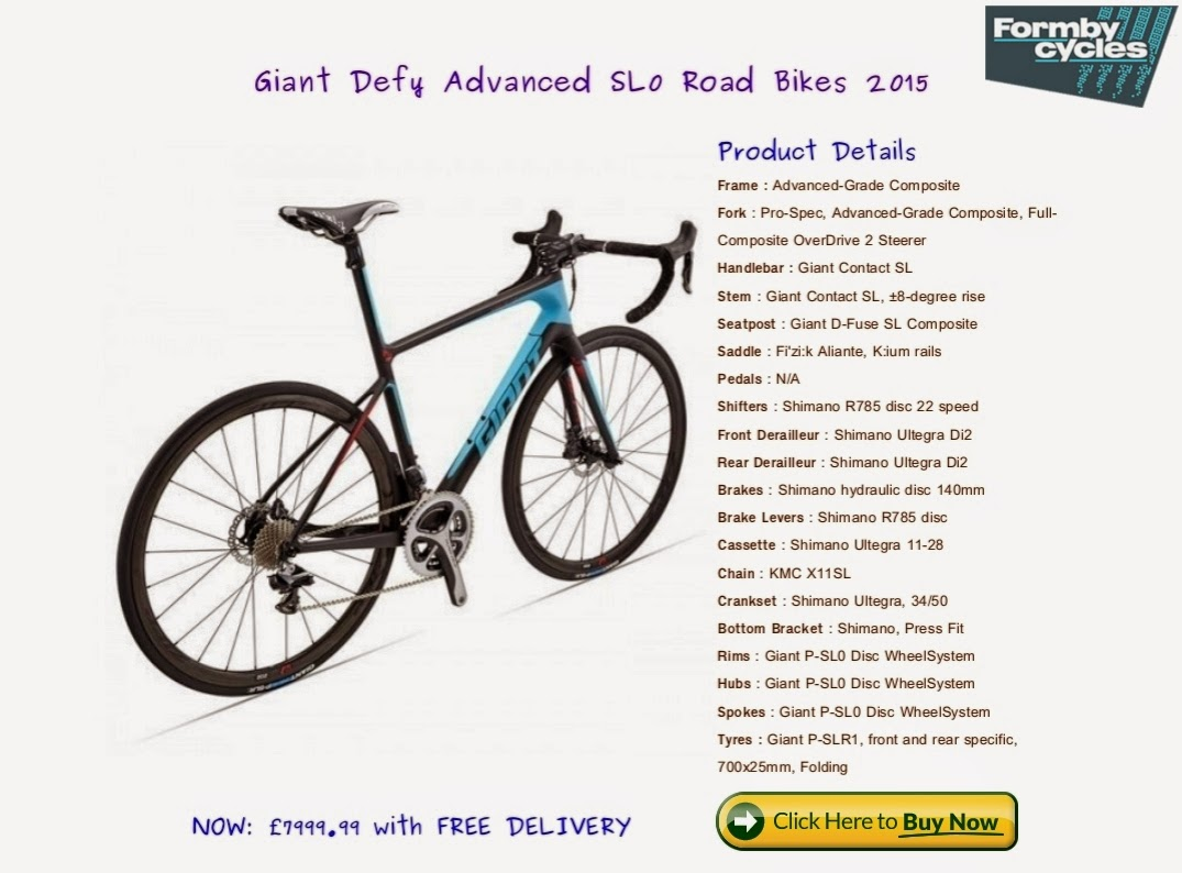 Giant 2015 Bike Dealers in UK