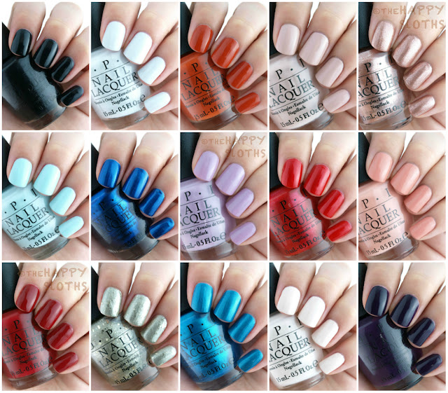 OPI Fall 2015 Venice Collection: Review and Swatches